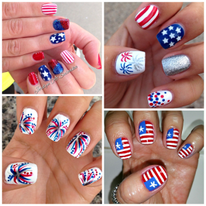 4th of july nail art designs for 4th of july nail art decoration flag