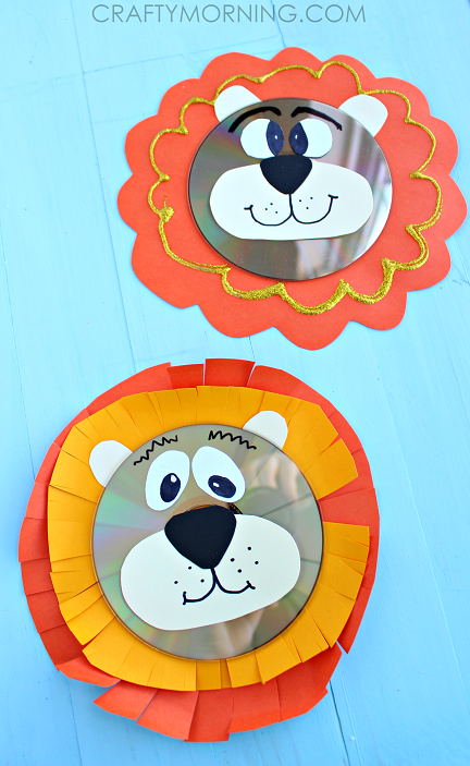 Lion Craft Pinterest