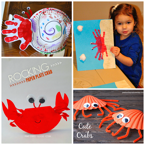 paper cup crab craft for kids crab crafts for to make this summer crafty morning 7859