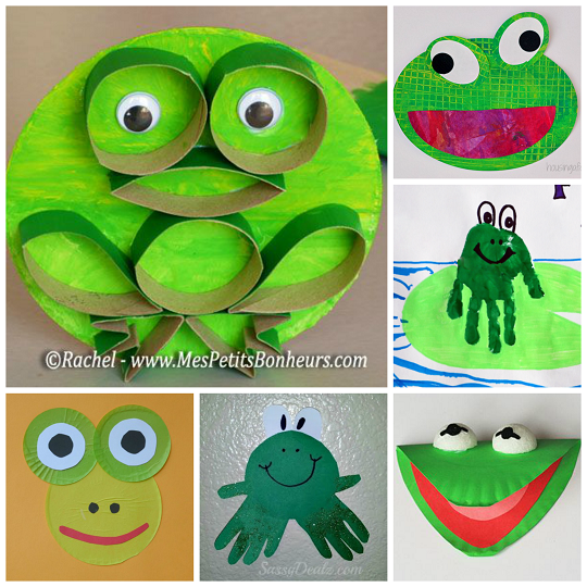 cute-frog-crafts-for-kids