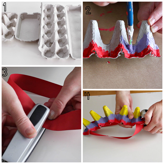 egg-carton-dinosaur-hat-craft-for-kids