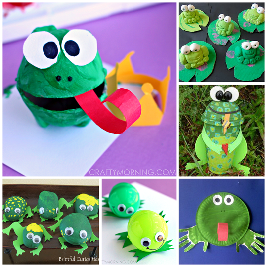 HD wallpapers frog craft ideas for kids