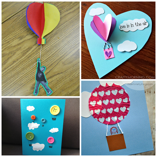 Hot Air Balloon Crafts For Kids