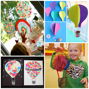 Hot Air Balloon Crafts for Kids to Make