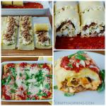 3-Cheese Sausage Lasagna Roll-Ups Recipe