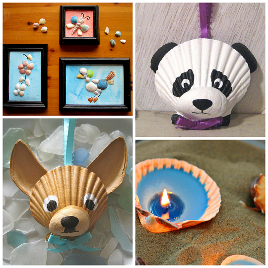 Cute Seashell Crafts For Kids