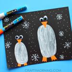 Penguins in the Dark Kids Craft