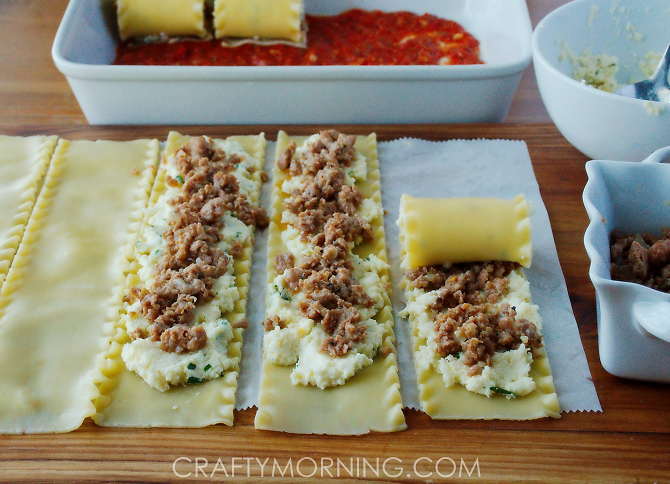sausage-3-cheese-lasagna-roll-ups-recipe-