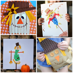 Scarecrow Crafts for Kids to Make this Fall