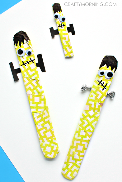 frankenstein-popsicle-stick-kids-craft-for-halloween-