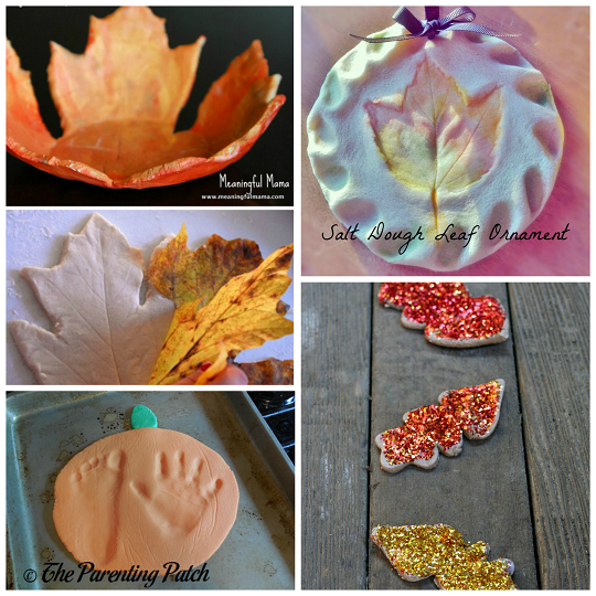 Fall Salt Dough Crafts