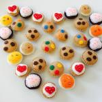 Felt Cookies for Kids Pretend Play