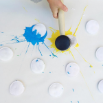 Paint Splat Art Activity For Kids