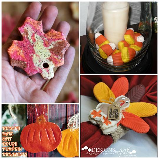 Fall Salt Dough Ornaments amp Craft Ideas Crafty Morning