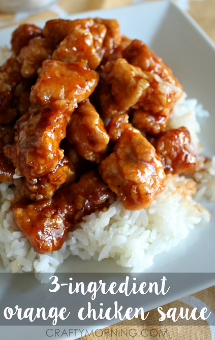3 ingredient orange chicken sauce recipe crafty morning 3 ingredient orange chicken chinese recipe forumfinder Choice Image