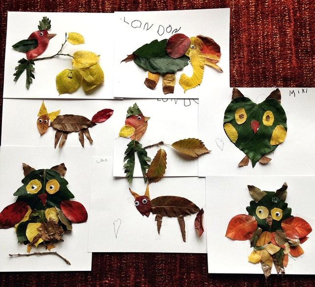 Leaf Animal Crafts To Make This Fall Crafty Morning