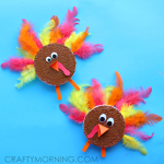 foam-disc-turkey-thanksgiving-craft-for-kids