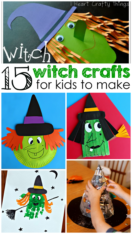 holloween craft ideas witch crafts for to make this crafty morning 2188