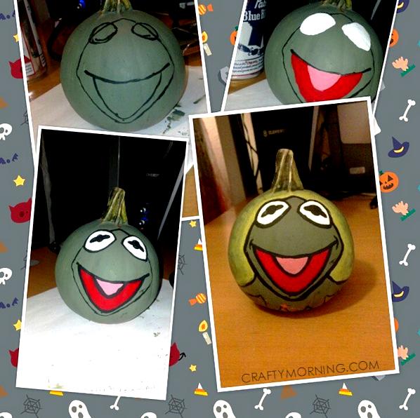 kermit-the-frog-no-carve-pumpkin-