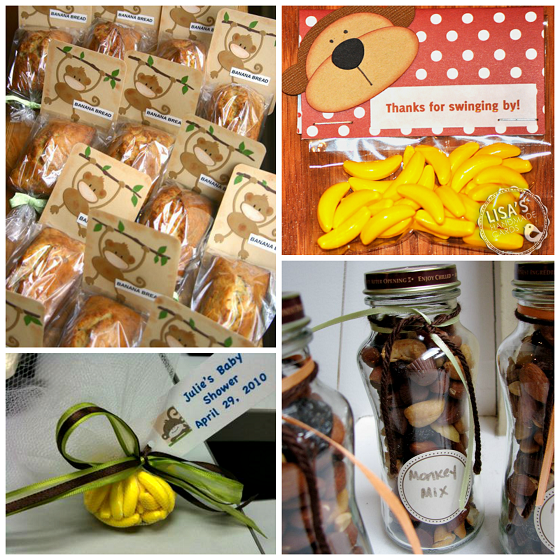 Monkey baby shower favors sorepointrecords - Monkey baby shower favors ideas ...