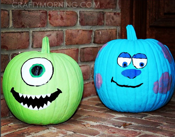 Clever No Carve Painted Pumpkin Ideas For Kids Crafty