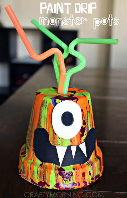 paint-drip-terra-cotta-pot-monster-kids-craft-halloween