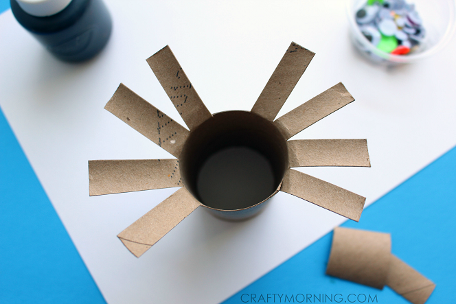 Two Toilet Paper Roll Spider Crafts For Kids Crafty Morning