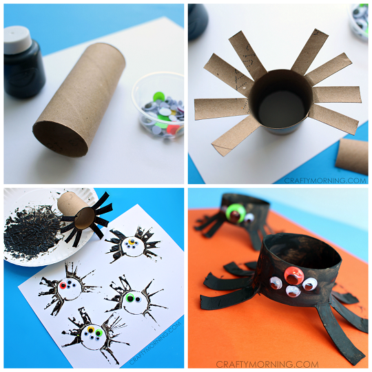 toilet-roll-spider-halloween-craft-for-kids