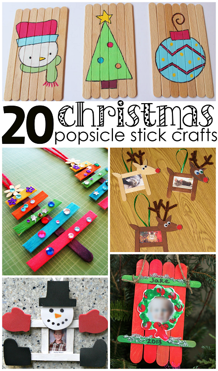 20 Christmas Popsicle Stick Crafts For Kids