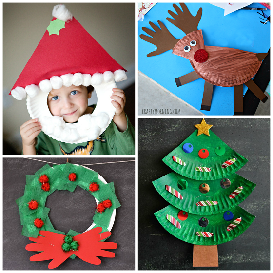 Kids Christmas Craft With Paper Plates | Search Results ...