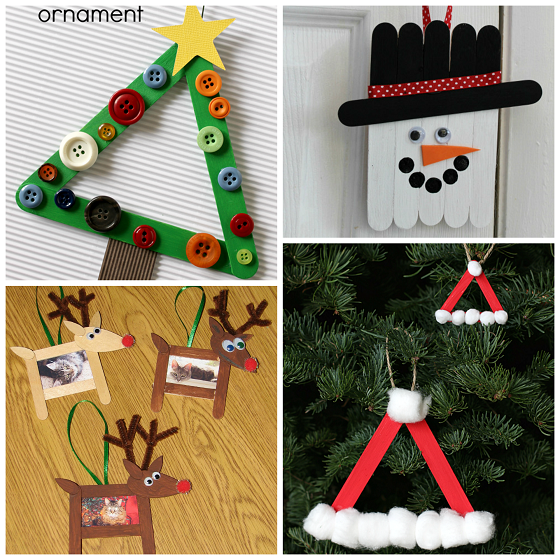 Over 20 Christmas Popsicle Stick Crafts For Kids To Make Crafty