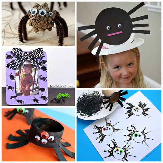 Creepy Spider Crafts For Kids