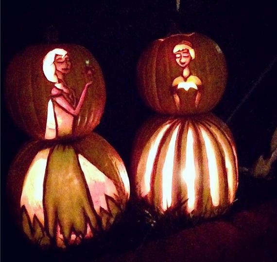 disney-frozen-pumpkins