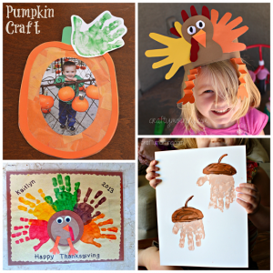 Fall Handprint Craft Ideas for Kids