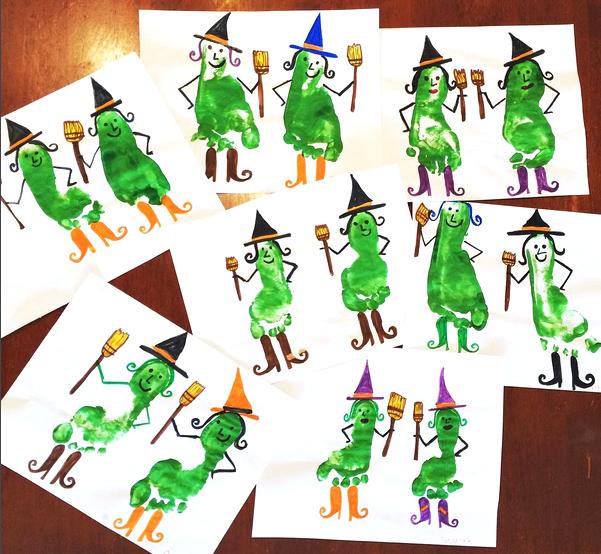Pinterest Halloween Preschool Crafts
