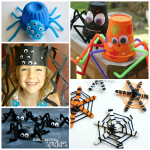 Cutesy Spider Crafts to Make for Halloween