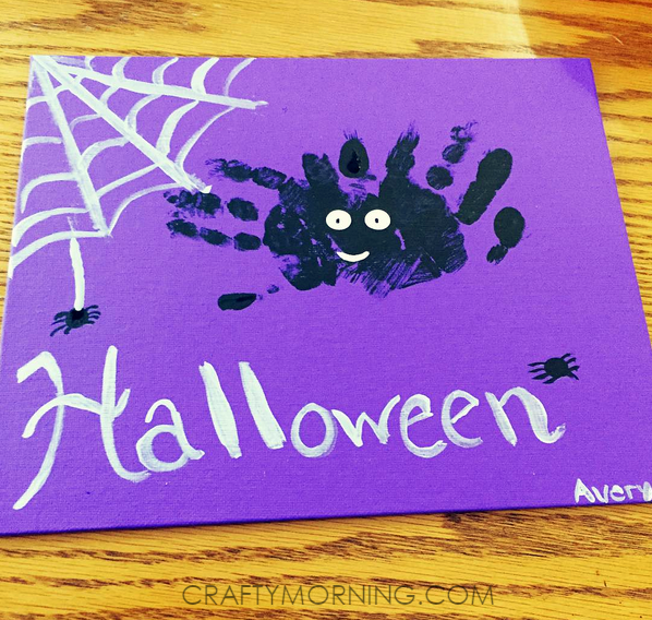handprint-halloween-spider-kids-craft