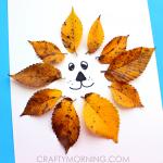 Easy Leaf Lion Kids Craft