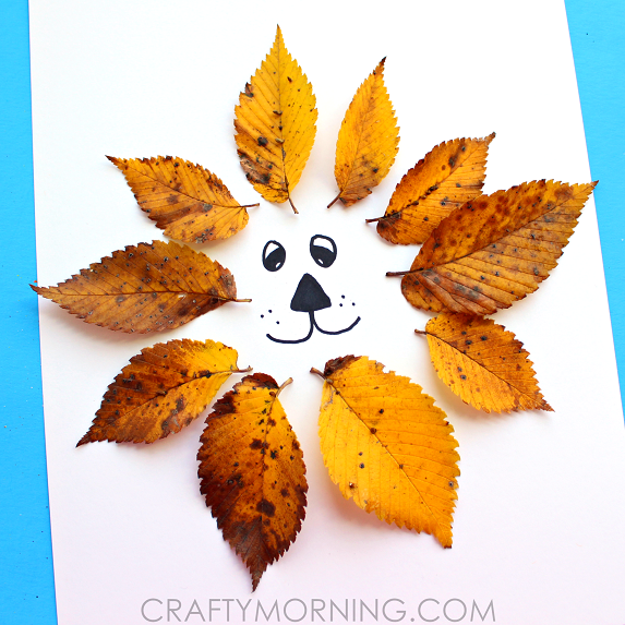 leaf-lion-kids-craft-