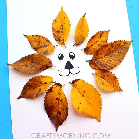leaf-lion-kids-craft-