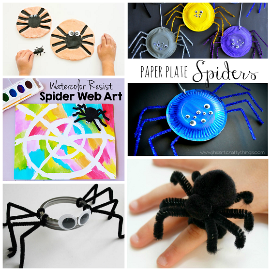 spider crafts for kids this halloween - Halloween Spider Craft Ideas