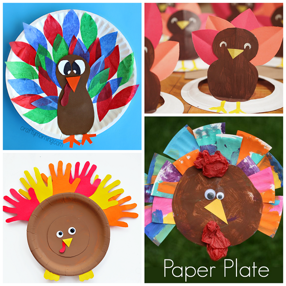 thanksgiving-paper-plate-crafts-for-kids  sc 1 st  Crafty Morning & Thanksgiving Paper Plate Crafts for Kids - Crafty Morning