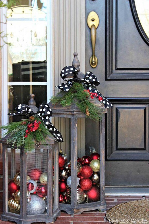 Most creative christmas decorations crafty morning for Christmas home decorations pinterest