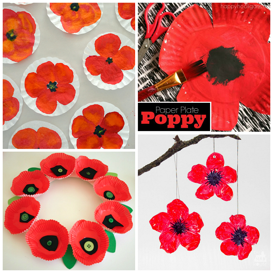 Beautiful red poppy crafts for kids to make crafty morning poppy crafts for kids on remembrance day mightylinksfo