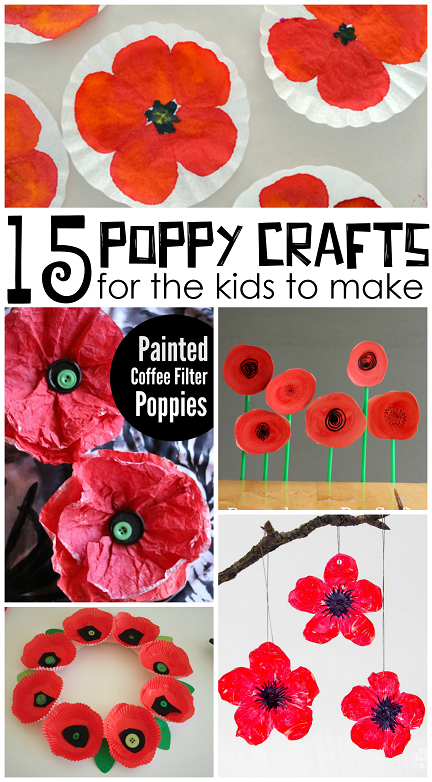 Beautiful red poppy crafts for kids to make crafty morning poppy crafts for kids remembrance day ideas mightylinksfo Gallery