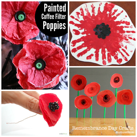 Beautiful Red Poppy Crafts For Kids To Make Crafty Morning