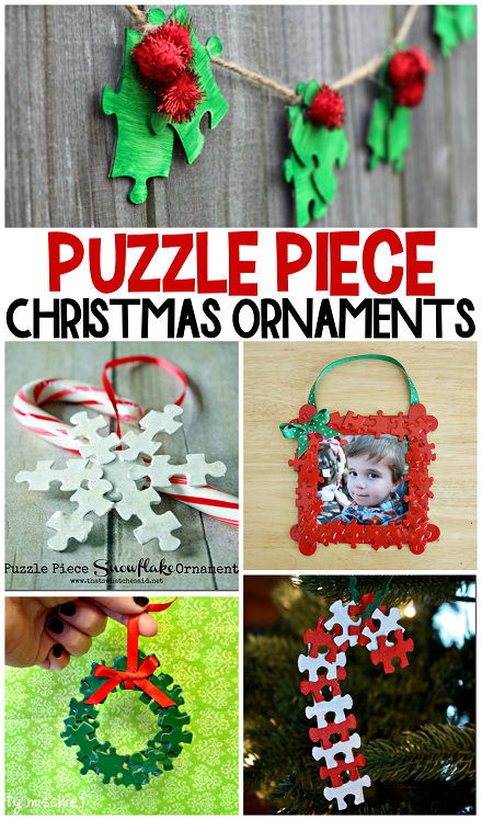 Photo Frame Christmas Ornaments Crafts