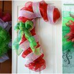Fun Christmas Deco Mesh Wreath Ideas