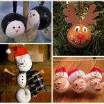 Weihnachten Golfball Ornament Ideen