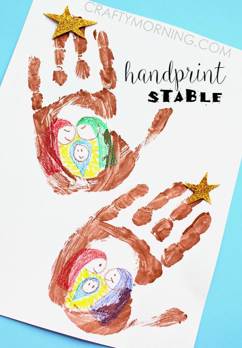 handprint-jesus-stable-christmas-kids-craft-idea-
